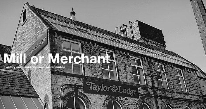 別名「Rashcliffe Mills」と呼ばれている「テーラー&ロッジ」の旧工場。